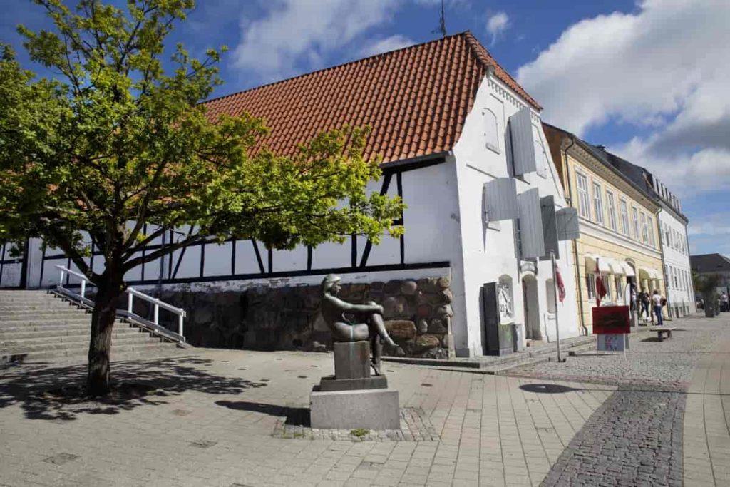 Frederikssund Kunstforening i Langes Magasin